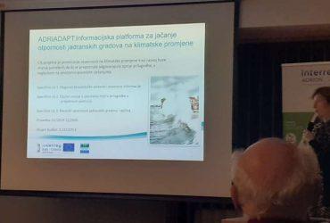 Nacionalna konferencija i radionica na projektu Interreg Adrion I-STORMS