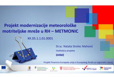 METMONIC – Projekt modernizacije meteorološke motriteljske mreže u RH
