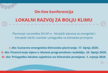 On-line konferencija: Lokalni razvoj za bolju klimu