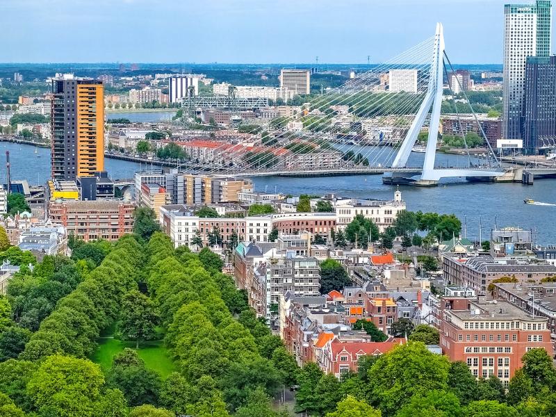 Načini prilagodbe Rotterdama sve većim količinama padalina